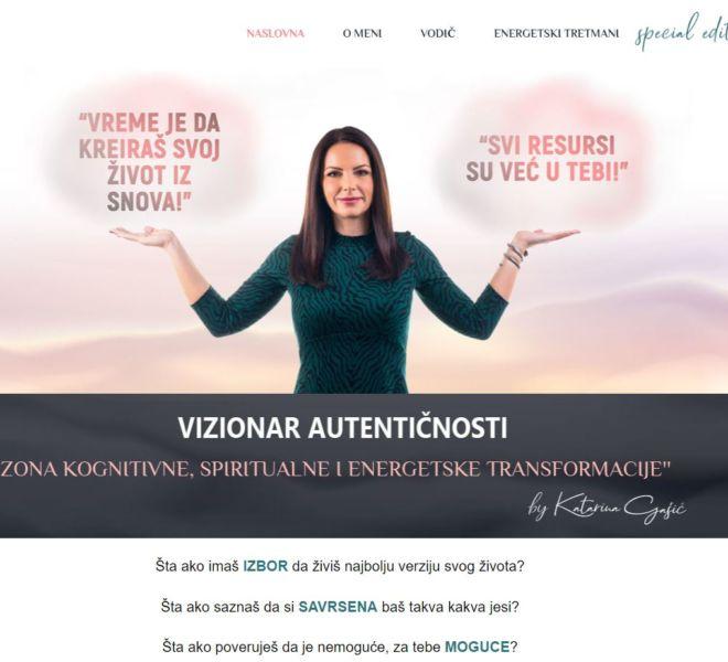 Katarina Gasic homepage